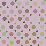 Art color dots generated seamless texture Stock Photo