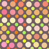 Art color dots generated seamless texture Royalty Free Stock Photo