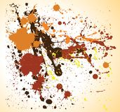 Art color grunge background. This image is a illustration art color grunge background royalty free illustration