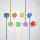 Art color painting Royalty Free Stock Photo