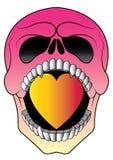 Art Color Skull Tattoo photo stock