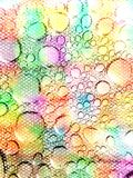 Art colorful dew background Stock Images