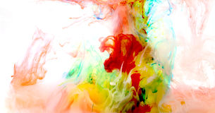 art colorful liquid Στοκ φωτογραφία με δικαίωμα ελεύθερης χρήσης