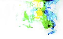 art colorful liquid Στοκ Εικόνες
