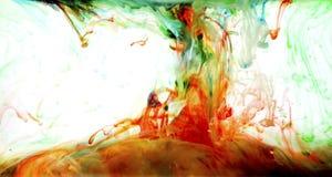 art colorful liquid Στοκ φωτογραφίες με δικαίωμα ελεύθερης χρήσης