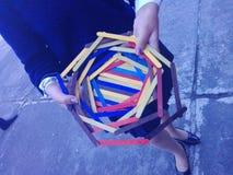 Art Colorful skolahantverk Royaltyfri Foto