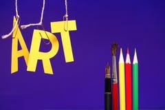 Art Concept Stock Photography