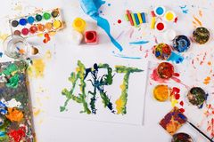Art concept Royalty Free Stock Photography