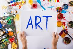 Art concept Royalty Free Stock Images