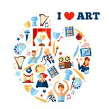 Art Concept Illustration Royalty Free Stock Photography