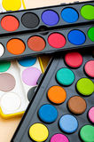 Art concept with painters palette Royalty Free Stock Photo