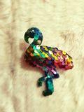 Art&craft фламинго ремесла искусства handmade стоковое фото