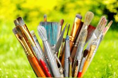 Art and Craft Equipment Stock Photography