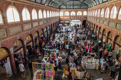 Art and craft market in Ballarat Mining Exchange Stock Photos