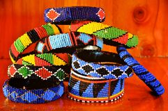 Art and craft in tanzania Royalty Free Stock Images