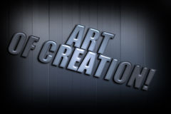 Art Of Creation Royalty Free Stock Images