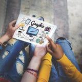 Art Creative Design Concept visuel graphique Photographie stock libre de droits