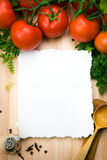 Art culinary background Royalty Free Stock Image