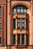 Art déco construisant à Manchester R-U Photo stock