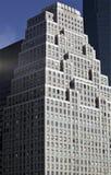 Art déco del edificio del raspador del cielo Imágenes de archivo libres de regalías