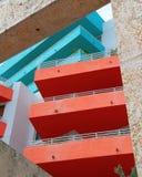 Art déco en avenida del océano Fotografía de archivo