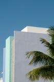 Art déco histórico - Miami, la Florida Fotos de archivo libres de regalías