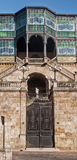 Art décomuseum i Salamanca royaltyfri bild