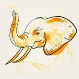 Art d'éléphant Image stock