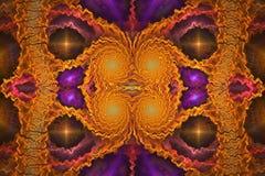 Art d'Abstrct Digital Technologies des graphiques de fractale illustration stock