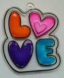 Art d'amour Photos stock