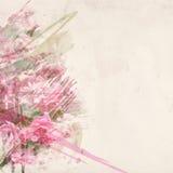Art d'aquarelle de rose de rose Photo libre de droits
