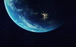 Art d'espace lointain Impressionnant pour le papier peint et la copie Éléments de cette image meublés par la NASA Photo stock