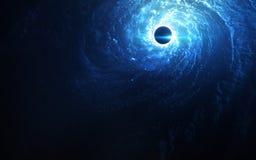 Art d'espace lointain Impressionnant pour le papier peint et la copie Éléments de cette image meublés par la NASA Image libre de droits