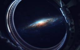 Art d'espace lointain Impressionnant pour le papier peint et la copie Éléments de cette image meublés par la NASA Photographie stock