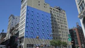 Art d'ombre de Broadway banque de vidéos