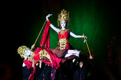 The art dance of Thailand. Royalty Free Stock Photos