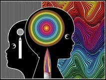 Art dans l'éducation d'enfance Image libre de droits