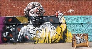 Art dans le Canada de Montréal photographie stock libre de droits