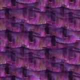 Art Dark bleu, goutte violette de peinture d'encre d'aquarelle Image stock