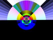 art dawn pop rainbow Στοκ φωτογραφία με δικαίωμα ελεύθερης χρήσης