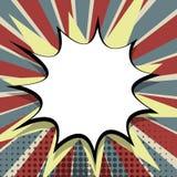 Art de bruit comique vide de bulle de la parole Photos libres de droits