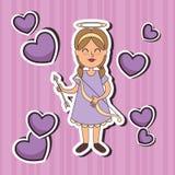 Art de bruit d'Angel Fairy Godmother Image libre de droits