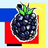 Art de bruit de Blackberry photos libres de droits