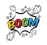 Art de bruit de boom Photos libres de droits