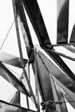 Art de câble de pipe en acier Photo stock