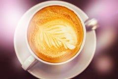 Art de café de Latte Image stock