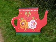 Art de canal des roses et des châteaux à la célébration de 200 ans du canal de Leeds Liverpool chez Burnley Lancashire Photos stock