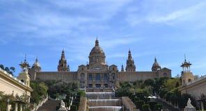 ` Art de Catalunya, Barcelone, Espagne de Museu Nacional d Images stock