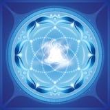 Art de chant religieux de méditation Image libre de droits