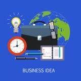 Art de concept d'idée d'affaires Image libre de droits
